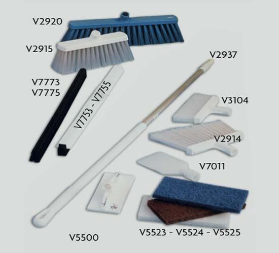 Prodotti per la pulizia e strumenti di misura HACCP, per caseifici e minicaseifici.