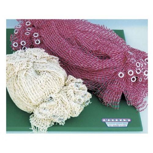 Rete elastica in pezzi, colore normale o rossa, prezzo per confezioni da 100 pz.