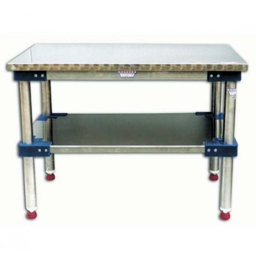 Tavoli da lavoro inox AISI 304 18/10 tipo pesante