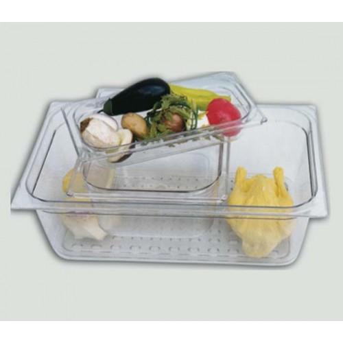 Bacinelle Gastronorm in policarbonato trasparente