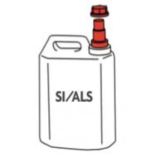 Disinfettante sanitizzante per macellerie SI/ALS, prezzi per taniche da lt. 5.