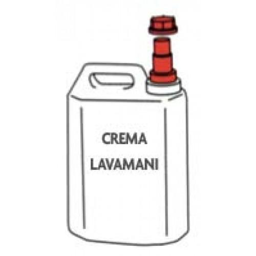 Crema lavamani sanitizzante per industria carni, prezzi per taniche da lt 5.