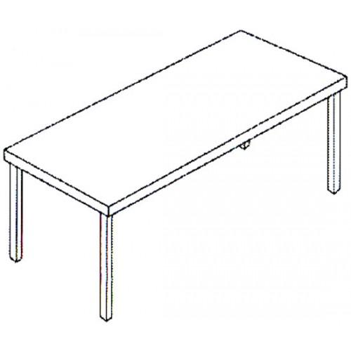 Tavoli da lavoro modello standard in acciaio inox aisi 304 per ristorazione catering - Tavoli acciaio inox prezzi ...