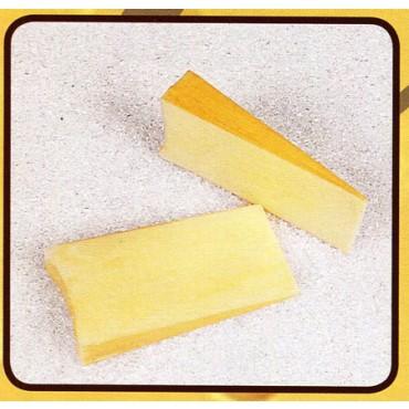 2 fette di fontina finte mm 160x75