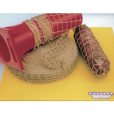 Rete elastica colore corda spago, prezzo per rotolo da mt. 100.