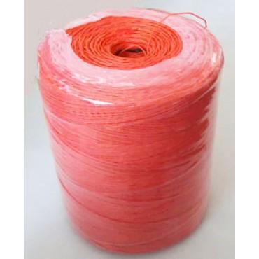 Spago in canapa naturale fine colore arancio, confezionato in bobine da Kg 3 circa, tit. 2/4.