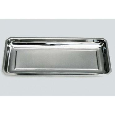 Contenitore in acciaio inox mod. America cm. 45x19x3,5 prezzo cad.
