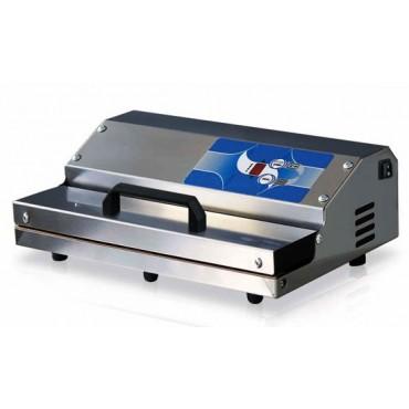 Confezionatrice sottovuoto inox professionale modello PREMIUM 350-INOX, barra saldante mm 350, ad aspirazione esterna mm 370x260x130 h - € 239,00