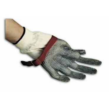 Sottoguanto in cotone composto, da usare sotto il guanto protettivo inox. Taglia unica. Prezzi per confezioni da 12 paia.