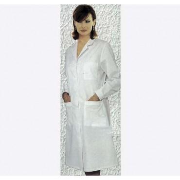 Camice donna bianco a manica lunga