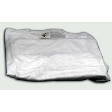 Maglietta bianca da lavoro tipo leggero manica corta