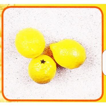 3 limoni finti mm 60x80 (prezzi per 1 confezione da 3 limoni)