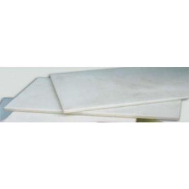 3 lastre in polietilene alimentari bianco da cm. 200x100