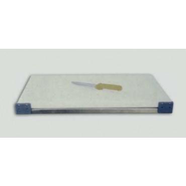Tagliere bianco spessore cm. 3