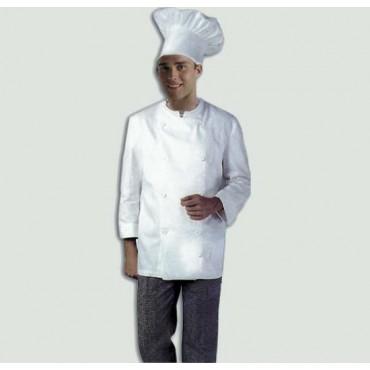 Cappello da cuoco a tuba bianco