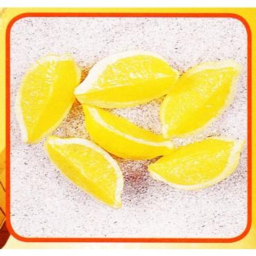 6 quarti di limone finti mm 90x35 (prezzi per 1 confezione da 6 quarti di limone)