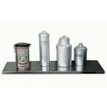 Mensole Morgan in acciaio inox 18/10 Ansi 304