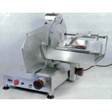 Affettacarne Morgan per carne e salumi CE.O.M.S. lama diametro mm 350, trifase 380 - Trancheur electrique vertical - Vertical electric slicing machine.