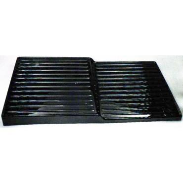 Alzate in plastica nera per banchi frigo a 2 o 3 ripiani