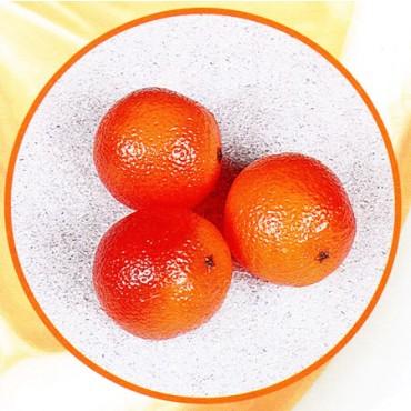 3 arance finte mm 75 (prezzi per 1 confezione da 3 arance)