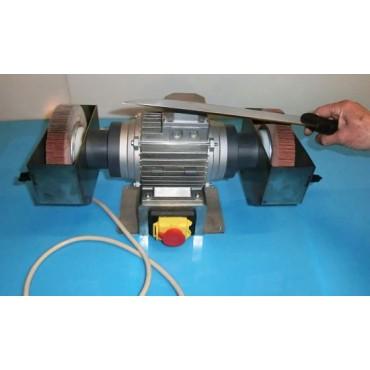 Arrotacoltelli (arrotino) elettrico Morgan HP 0.50 e mole di ricambio