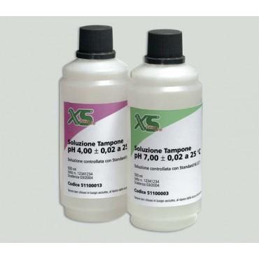 Soluzioni  PH 4, PH 7 per tampone nella lavorazione carni.