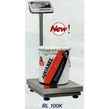 Bilancia tecnica di precisione digitale con capacità di pesata: 100 kg e risoluzione: 10 g Display retroilluminato removibile. Volt 220.