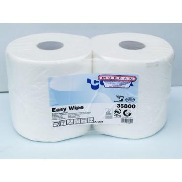 Bobine Easy Wipe cm 22xH24, peso kg 1,75, 2 veli, confezioni da 2 bobine da 800 strappi cad.
