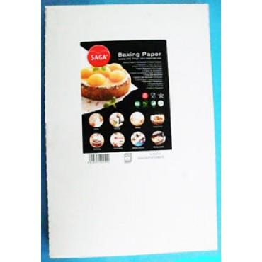 Carta da forno a fogli, cm 60x40, prezzi per confezioni da 500 pezzi.