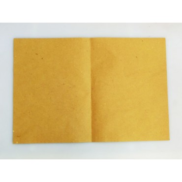 Carta paglia gialla non per contatto diretto con alimenti, per tovagliette, soprincarto per macellerie ecc., grammi 85, cartoni da kg 10.