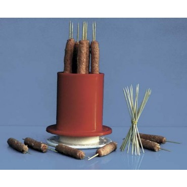 Macchinetta per cevapcici professionale per industria alimentare, capienza kg 2,5 di carne.