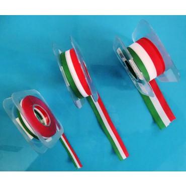 Nastri tricolore per articoli da regalo e per confezionamento prodotti alimentari