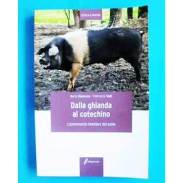 DALLA GHIANDA AL COTECHINO. L'allevamento familiare del suino; Mario Giannone - Francesco Sodi. 203 pagine, formato cm 15x21.
