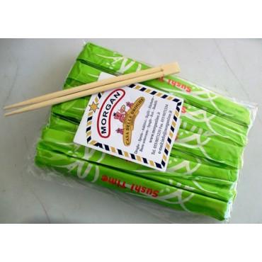 Bacchette per mangiare asiatico, Sushi Time. Imballo singolo, prezzi per 1 confezione da 50 pezzi.