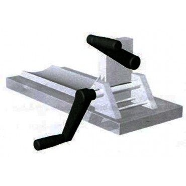 Clippatrice manuale da tavolo in acciaio inox, ideale per clippare budelli sintetici, reti per pancette ecc.