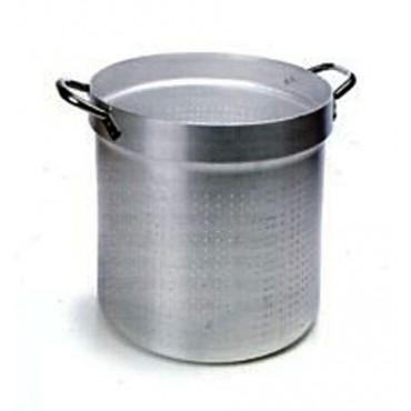 Colapasta cilindrici in alluminio a 2 manici