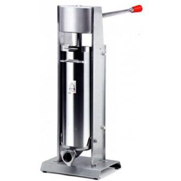 Insaccatrice professionale per macelleria, verticale mod. 10/V Deluxe, capacità 10 l - Deluxe Sausage Filler - PREZZO SCONTATO DEL 5%: € 421,94.