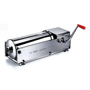 Vendita online insaccatrice per salumi professionale, a prezzo davvero conveniente, mod. 15 Deluxe Tre Spade, capacità 15 l - Deluxe Sausage Filler.