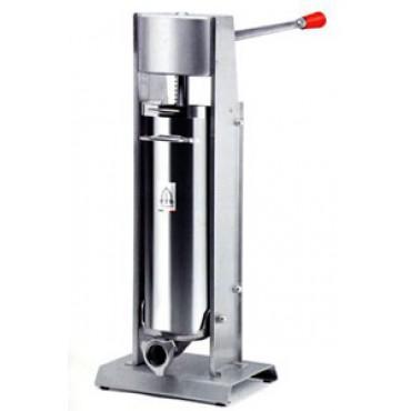 Insaccatrice manuale per insaccati Tre Spade verticale mod. 7/V Deluxe, capacità 7 l, usata solo a scopo dimostrativo - PREZZO SCONTATO DEL 5%: € 361,00.