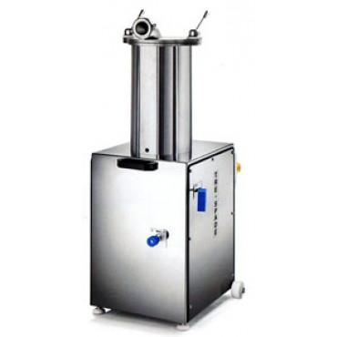 Insaccatrice per salumi idraulica Morganline trifase 370 W, capacità 15 l - Hydraulic Sausage Filler - PREZZO SCONTATO DEL 10%: € 2952,90.
