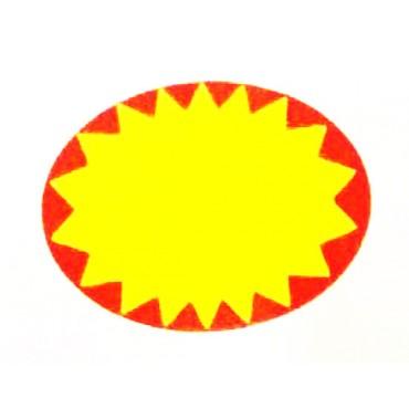 Etichette adesive tipo 4 per supermercati, negozi ecc. rotoli da 650 etichette mm 37x28, prezzi al rotolo.