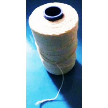 Filo elastico per macchine legatrici a mosca, per pancette, coppe, bresaole, salami e insaccati (si può usare anche per legature manuali).