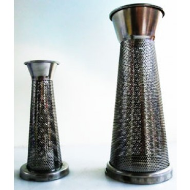 Filtro o cono/filtro inox per spremipomodoro passapomodoro Reber - Tre Spade - Leonardi
