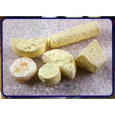 6 formaggi francesi assortiti finti mm da 55 a 150 (prezzi per 1 confezione da 6 formaggi)
