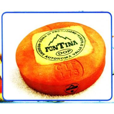 1 forma di fontina finta mm 360x60
