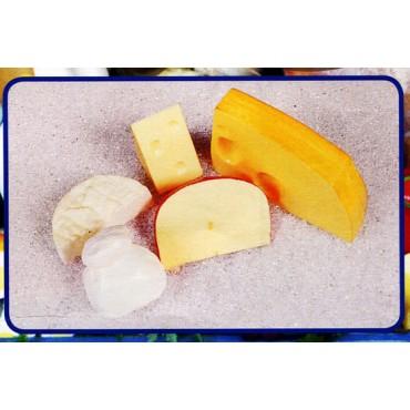 5 formaggi finti mm da 60 a 155 (prezzi per 1 confezione da 5 formaggi)