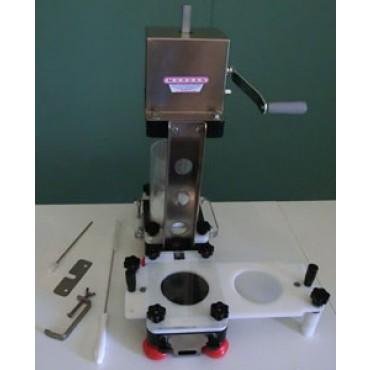 Hamburgatrici-polpettatrici marca Alce modello V200-V500, con caricatore plex incorporato, con regolatori di peso, diametro e spessore - PREZZI DA SCONTARE del 10%.