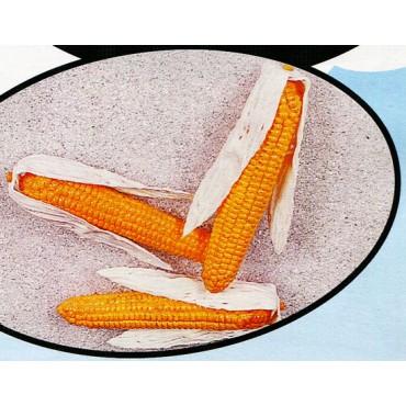3 pannocchie di granoturco finte mm 60x220 (prezzi per 1 confezione da 3 pannocchie di granoturco)