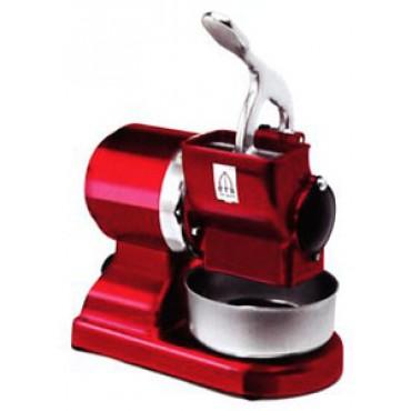 Grattugia a motore GF-50/Red / CE (rossa). Velocità: 1400 r.p.m., produzione oraria: 30,5 Kg/h. - Grater.