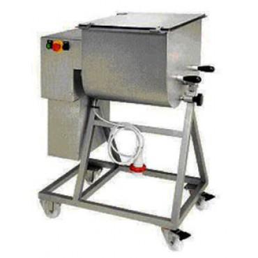 Impastatrici Morgan per carne e salumi interamente in acciaio inox. Motore trifase 380 o monofase 220. Made in Italy.